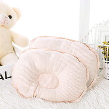 Newborn Baby Shaping Pillows Sleep Cotton Breathable Cushion 0~12M  Infant Nursing Concave Head Protect Flat Head Positioner