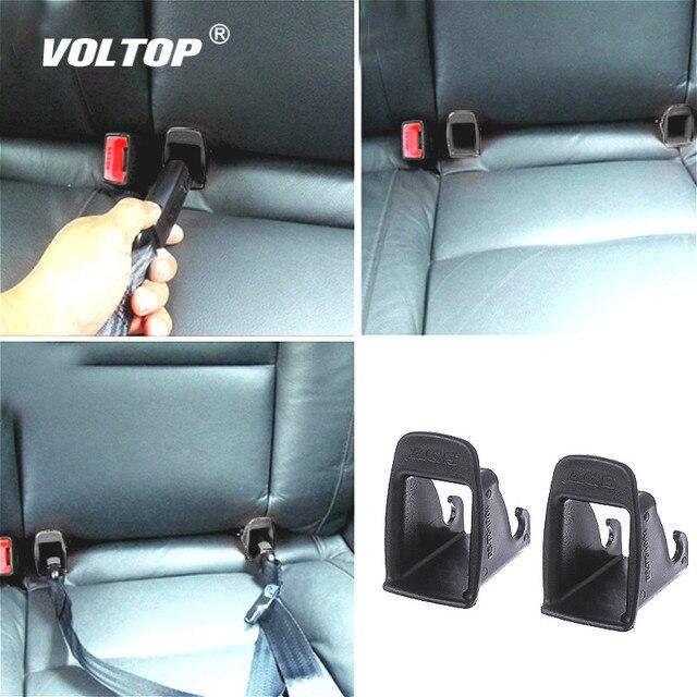 2 stuks Auto Baby Seat Belt Cover Interieur Accessoires voor Meisjes ISOFIX Klink Riem Connector Gids Groove Auto Fastener Clip