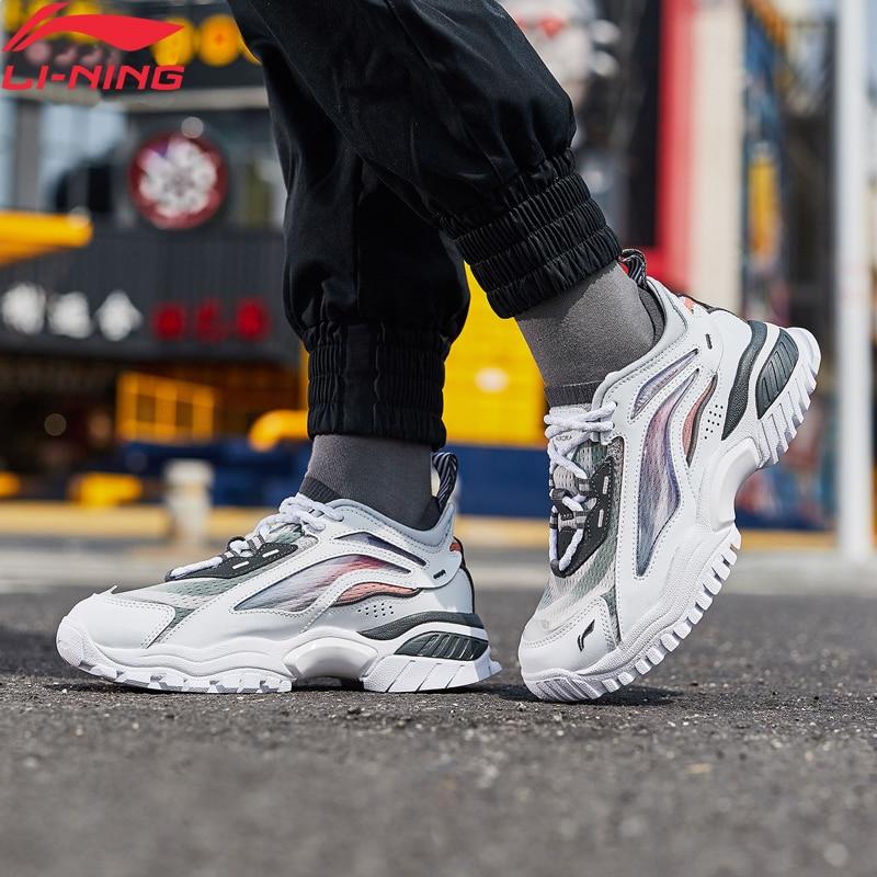 Li-Ning Women AURORA WINDWALKER Lifestyle Shoes Retro Durable LiNing Li Ning Fitness Sport Shoes Comfort Sneakers AGLP108 YXB318