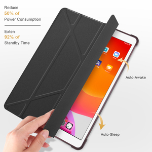 Image 3 - For iPad 10.2 2019 Air 3 2 1 Case with Pencil Holder For iPad 9.7 2018 6th 7th Generation Case For iPad Pro 11 10.5 Mini 5 Funda