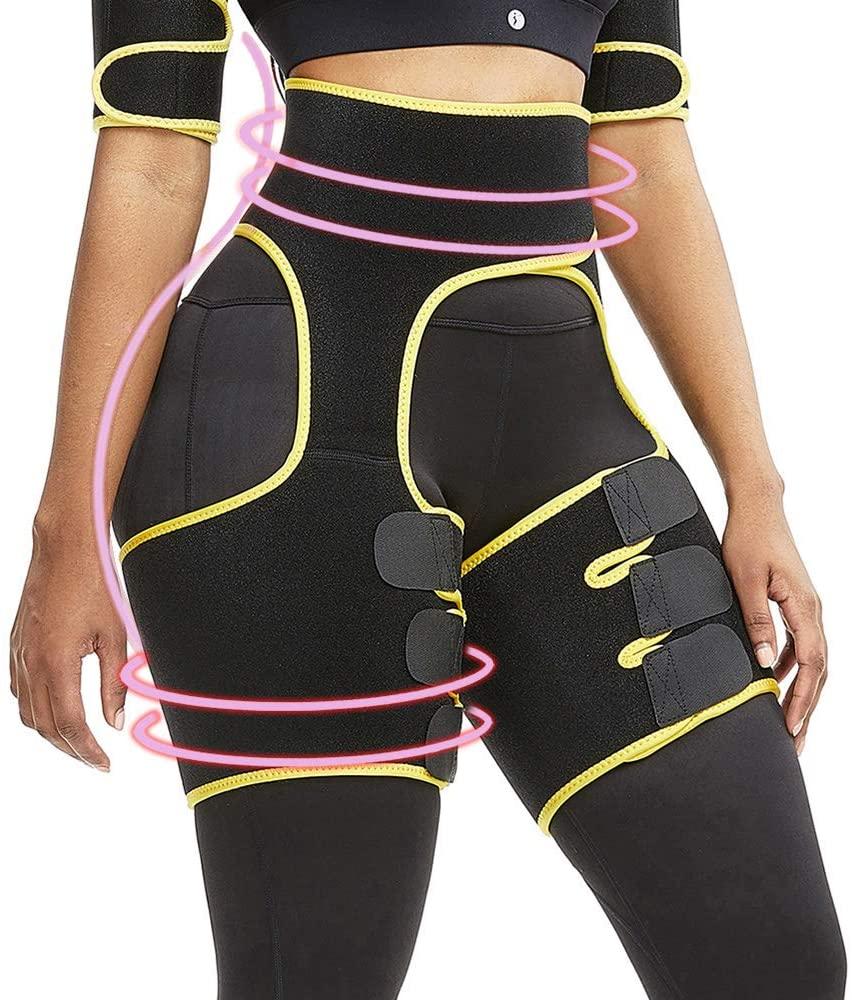 Waist Trainer For Women Butt Lifter Hips Fitness Belt Sport Workout Waist Support Girdle Slimming Body Shaper Thigh Trimmer Belt