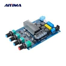 AIYIMA TPA3116 Bluetooth 5.0 amplifikatör güç ses kartı 50Wx2 çift kanallı dijital ses Amplificador ses ayarı ile