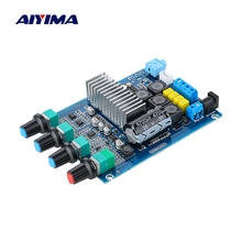 AIYIMA TPA3116 wzmacniacz Bluetooth 5.0 karta Audio mocy 50Wx2 podwójny kanał cyfrowy wzmacniacz dźwięku z regulacją głośności