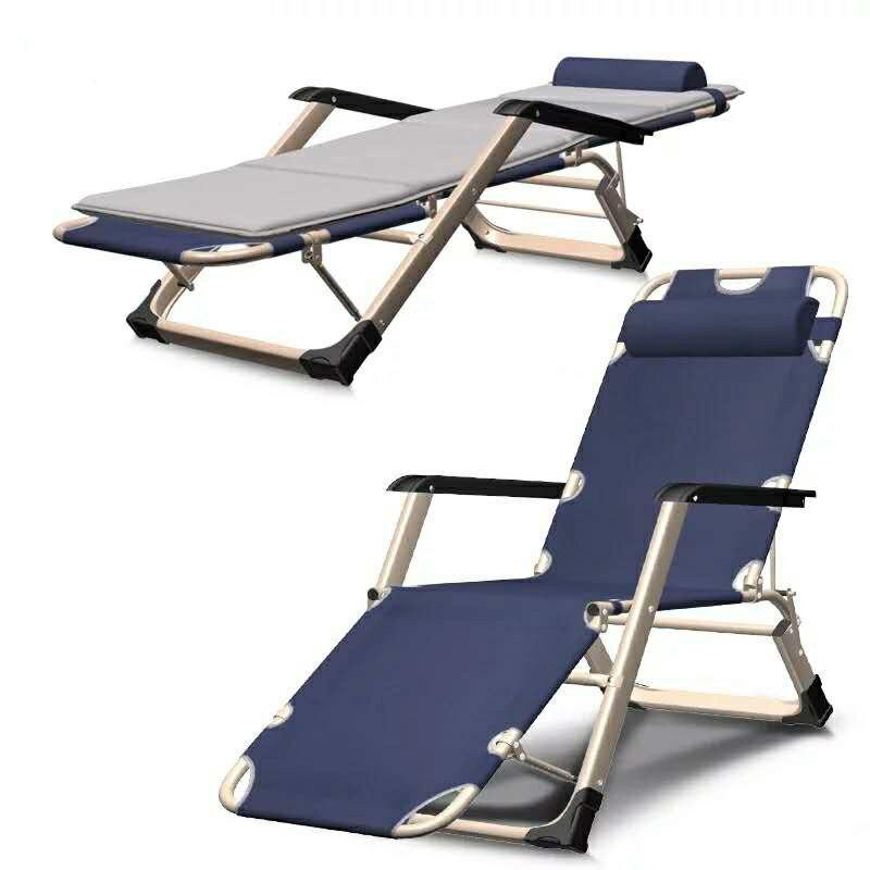 Bureau sieste lit Chaise 8 vitesse réglable Chaise longue en plein air Portable balcon plage inclinable zéro gravité Chaise forte roulement