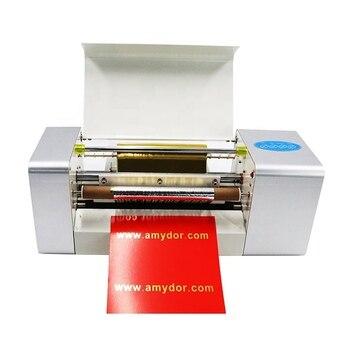 Тиснение машина для горячего тиснения фольгой Бесплатная доставка Amydor 360B A4 цифровой принтер из золотой фольги