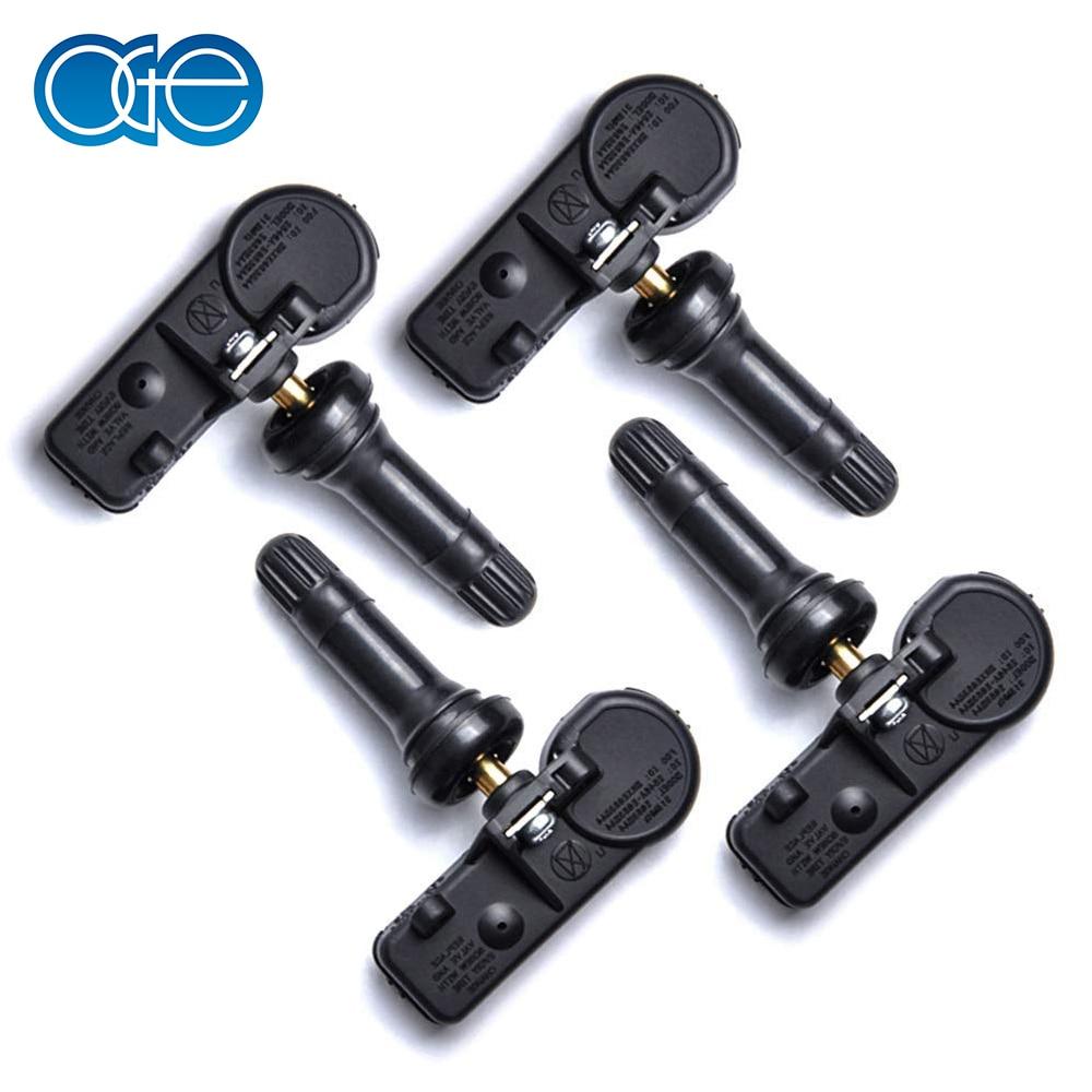 4-Pieces Tire Pressure Sensor, 13586335 TPMS, For Cadillac GMC Buick Chevy Silverado, Tahoe, Impala, Suburban