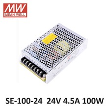 цены MEAN WELL SE-100 regulated Single Output Switching Power Supply 220V to 12V AC DC transformer 20A 7A 100W 5V 24V 48V 36V