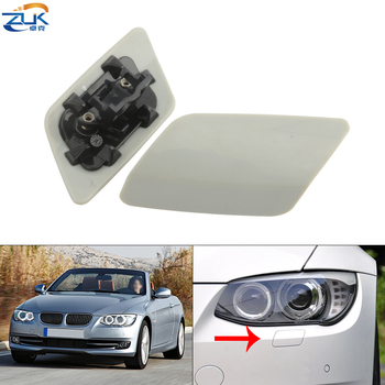 ZUK Front Bumper Headlight Washer Nozzle Cover Cap For BMW 3 Series Coupe E92 E93 LCI M SPORT 2010-2013 61677253393 61677253394 image