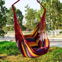 furniture hammock Swing campingFashion Home garden furniture Portable Outdoor Camping Tent Hanging Swing Chair cheap cotton ss202057 Outdoor Furniture