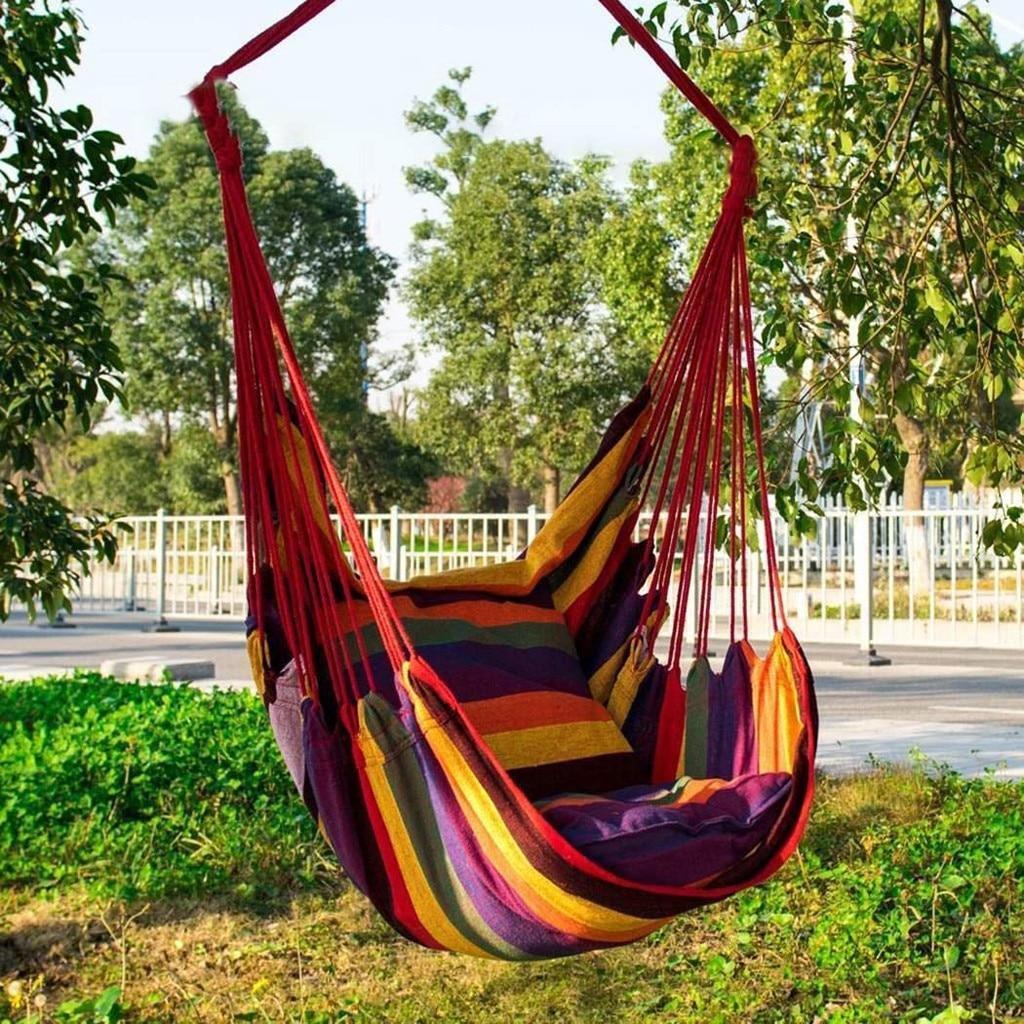 Furniture Hammock  Swing CampingFashion Home Garden Furniture Portable Outdoor Camping Tent Hanging Swing Chair