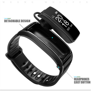 Image 2 - Y3 Bracelet Heart Rate Monitor Sports Smart Watch Band Passometer Fitness Tracker SmartWatch Bluetooth Headset Talk 2 In 1 1yw