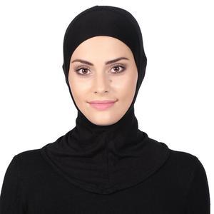 Underscarf Hot sale Soft Muslim Full Cover Inner Women's Hijab bonnet Cap Headscarf Islamic Underscarf Neck Head Bonnet Hat