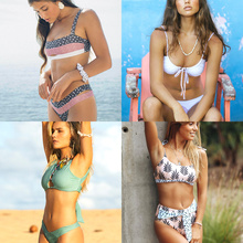Dot Patchwork Bandeau Bikini 2019 High Quality Push Up Bikinis Female Bikini Set Swimsuit WomenS Beach Feminino May Biquinis
