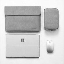 "Funda para Tablet para surface pro, 6, 7, impermeable, de 12,3 "", para Microsoft surface pro 4, 5, 3, de piel sintética para hombre y mujer"