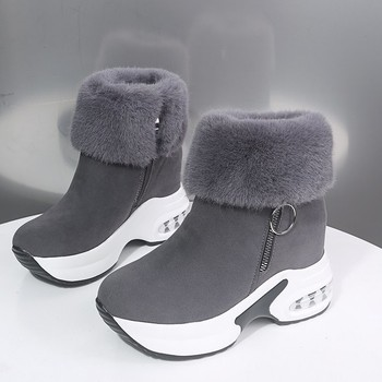 Women Boots Winter Warm Fur Sneakers Platform Snow Boots Women Ankle Boots Female Causal Shoes Ankle Boots For Women Botas Mujer women martin boots ankle boots winter warm shoes female motorcycle ankle fashion boots botas feminina women botas mujer