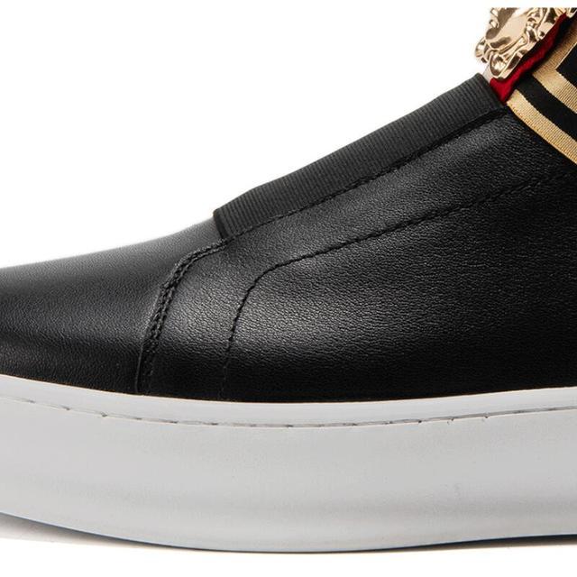 Zapatos informales de lujo para hombre, mocasines de marca de lujo de alta calidad, color negro, Accesorios de belleza, P26, novedad 3
