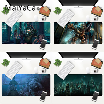 Your Own Mats BioShock Anti-Slip Durable Rubber Computermats Gaming Mouse Pad Large Deak Mat 700x300mm for overwatch/cs go