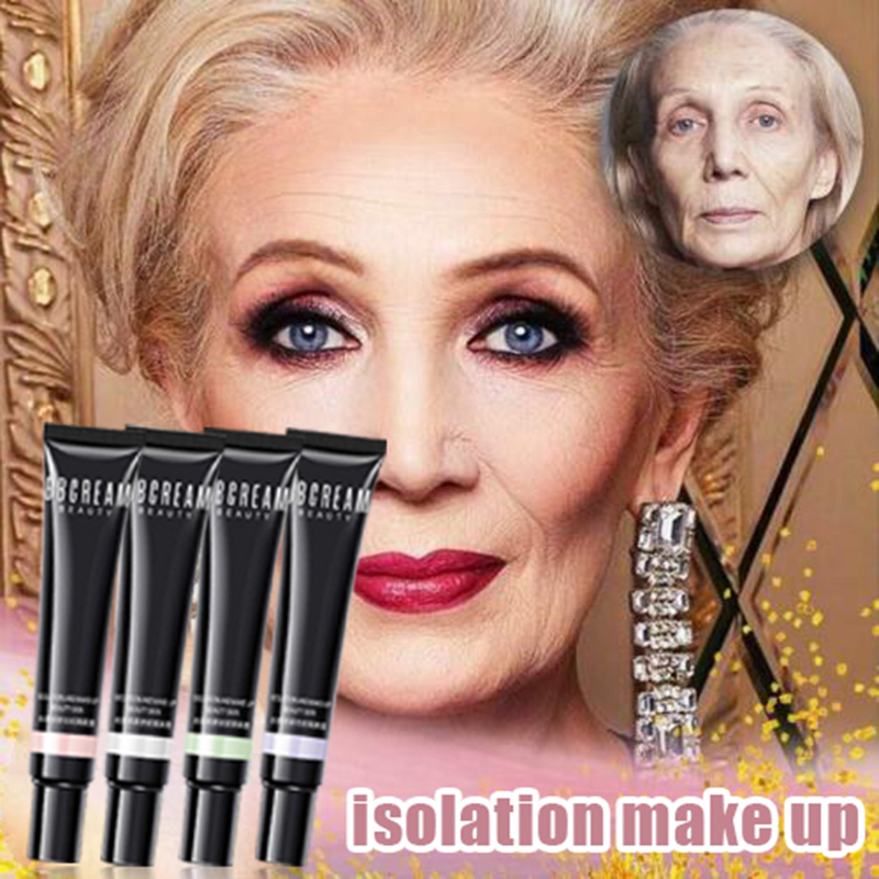Youthful Glow Foundation Makeup Primer Wrinkle Concealing Hydrating Isolation Concealer FM88