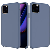 Candy Silicone Liquid Case for IPhone X XS MAX XR Case for IPhone11 Pro Max 7 6s 8 Plus Soft Tpu Back Cover Solid Colors Fundas(China)