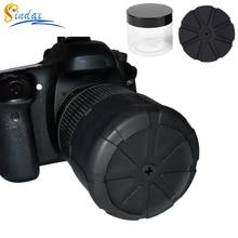 La tapa Universal de la lente para la lente de la Cámara DLSR impermeable lentes funda protectora de la cámara para Canon Nikon Sony Olypums Fuji Lumix