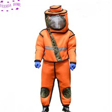 2019 Wasp/Bee Keeping Suit Removeable Hat Anti-bee/Anti-Wasp Protective Safety  Equipment Supplies Jacket Veil Set