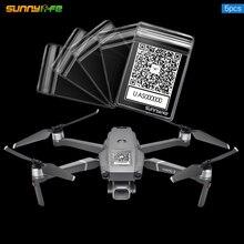 Sunnylife 5 قطعة QR رمز الهاتف عدد ملصقا للماء واقية حقيبة ل DJI MAVIC الهواء 2 S Air2 البسيطة 2 البسيطة Mavic 2 سلسلة Drone