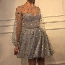 Женские Модные прозрачные вечерние платья с v-образным вырезом в европейском стиле