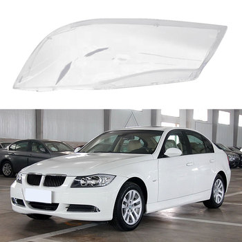 Car Lamp Shade Transparent Halogen Headlamp Shade Pc Lamp Shade For BMW E90 318 320i 325i 330i image