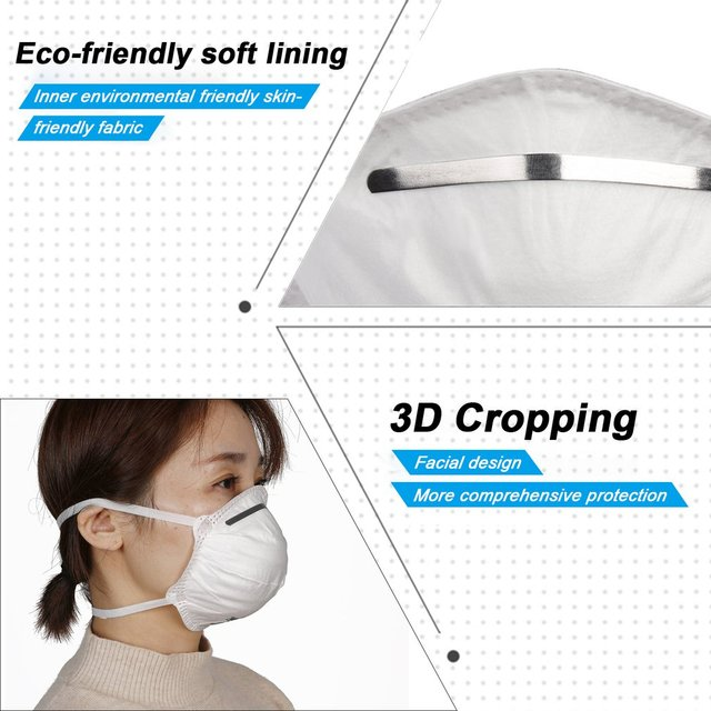 1Pcs KN95 Safety Protective Mask Dust Masks Anti-Particles Anti Bacteria PM2.5 Anti Flu Mask FFP2 Mouth Mask 3
