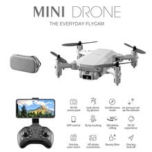 2020 LS-MIN New Mini Drone 4K 1080P HD Camera WiFi Fpv Air Pressure Altitude Hold Foldable Quadcopter RC Toy