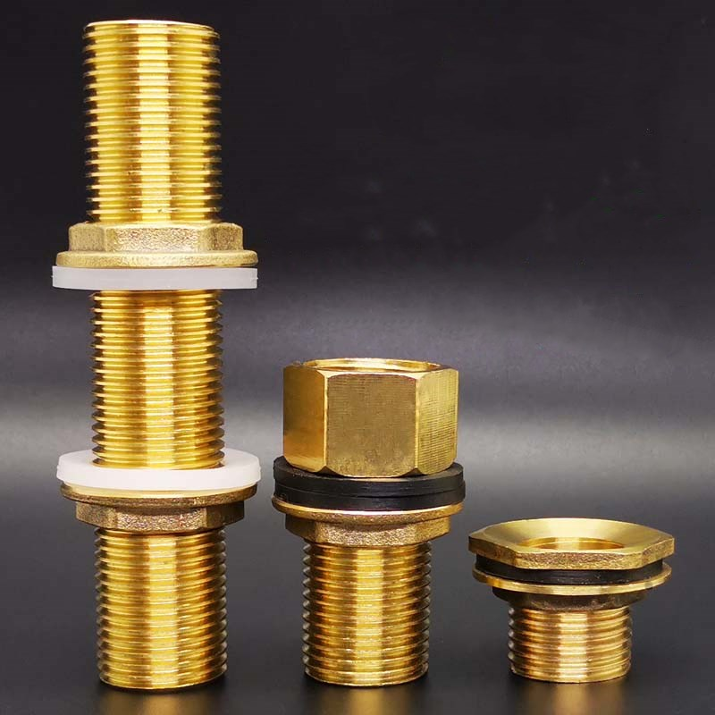 Copper Water <font><b>Tank</b></font> <font><b>Connector</b></font> 1/2