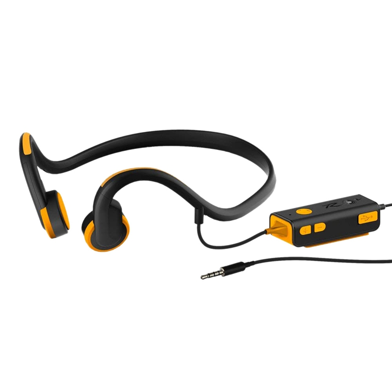 Open Ear Bone Conduction Headphones Sport Headphone With Waterproof Sweatproof and Noise Reduction Microphone for iPhone Headset