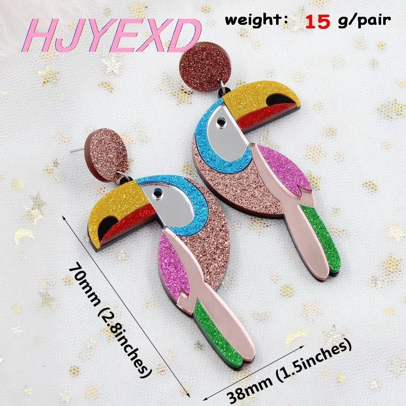 glitter bird-1 pair
