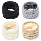 Knitted Scarf Neck S...