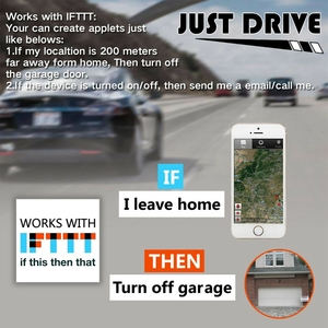 Image 3 - Wifiスマートスイッチ車ガレージドアオープナーリモートコントロールためewelinkアプリ電話サポートalexa googleホーム