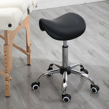 Massage Pedicure Chair Stool Saddle Leather Upholstery Spa Tattoo Beauty Facial Massage Chair Giraffe Office Chair