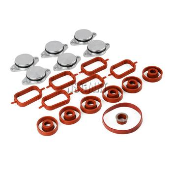 AP03 New Manifold Gaskets & Swirl Flaps Kit 6*32MM For BMW 330d 335d 530d X3 X5 E70 X6 3.0d,sd image