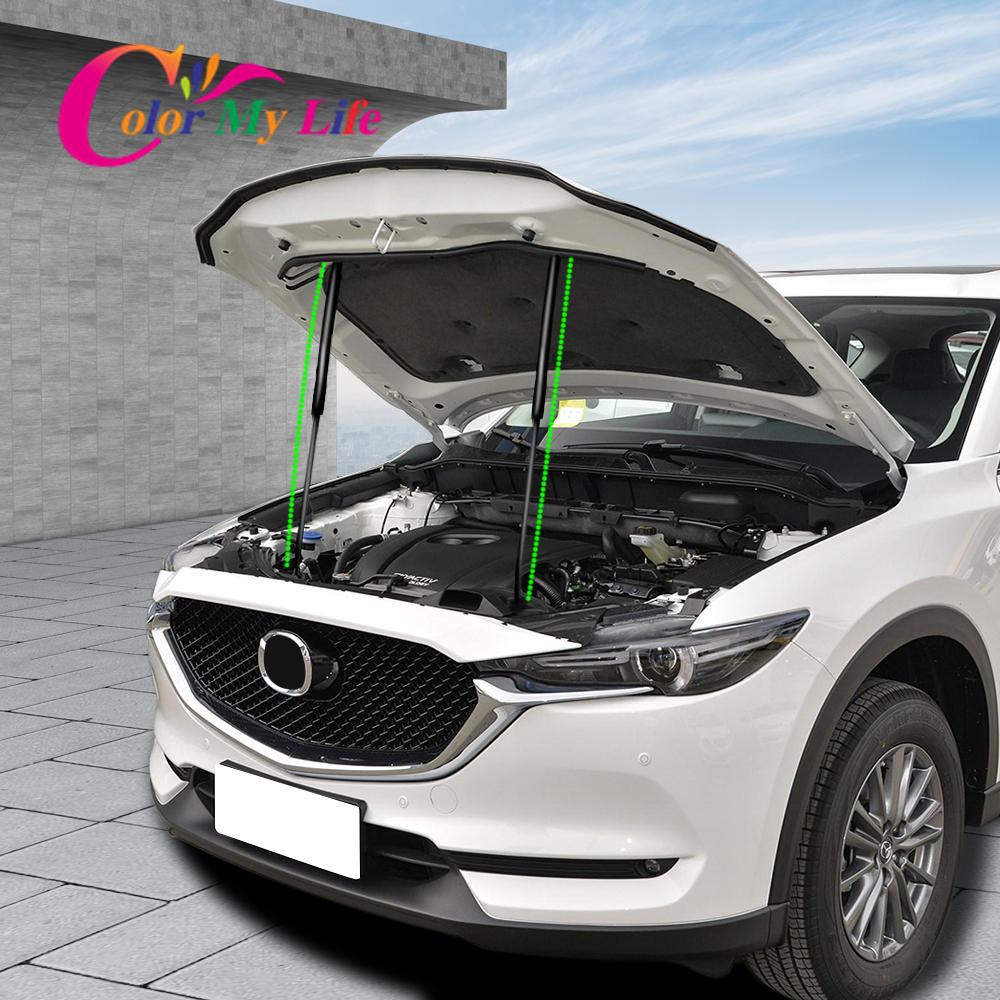 1732.18руб. 21% СКИДКА|Подходит для Mazda CX 3 2016 2017 2018 2019 передняя крышка капота двигателя поддерживающая гидравлический шток стойки пружинный амортизатор кронштейн|Наклейки на автомобиль| |  - AliExpress