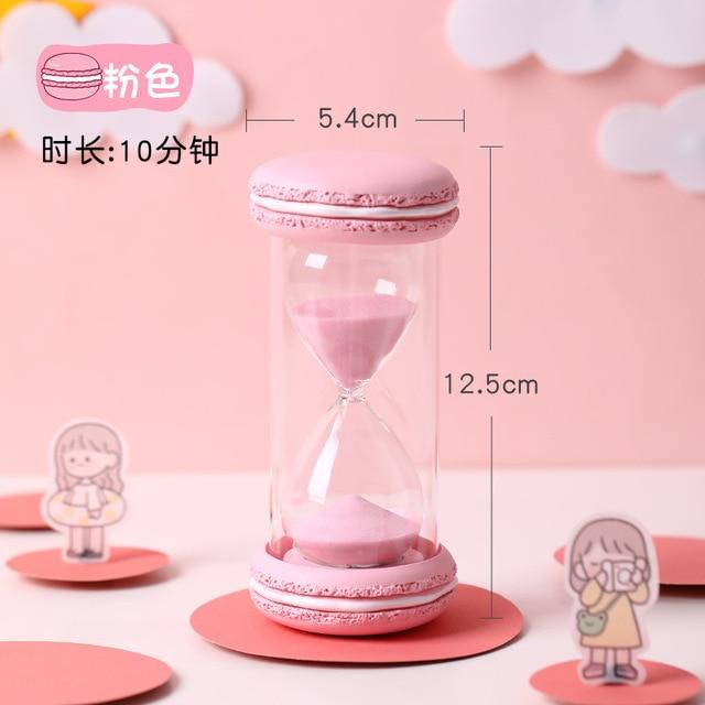 часы из прозрачного стекла часы с песком креативные таймер обратный фотография