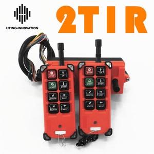 Image 1 - Kostenloser Versand Industrial Wireless Radio Fernbedienung F21 E1B 8 Kanal Tasten Switchs für Uting Hoist Kran