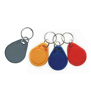 Image 2 - RFID IC keyfobs 13.56 MHz מחזיקי מפתחות NFC מפתח תגיות ISO14443A MF 1k אסימון תג חכם בקרת גישה מערכת