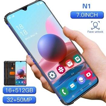 "RUGGED SMARTPHONE N1 7.0"" SHOCKPROOF ANDRIOD11 WATERPROOF QUALCOMM 888 16G 512GB DUAL SIM 6800MAH MULTI-LANGUAGE 3"