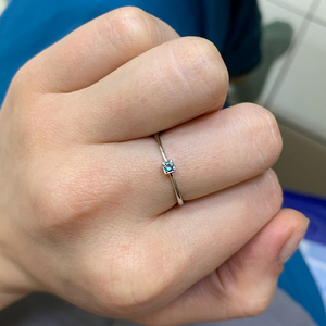 Image 2 - อัญมณี & Real 925 เงินสเตอร์ลิงแหวน Gree สีแดง Topaz แหวนพลอยหมั้นแหวนเงิน 925 anillos Mujer