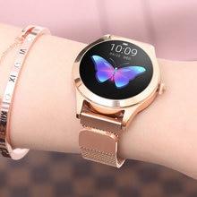 KW10 Smart Watch IP68 Waterproof Women Lovely Bracelet Heart