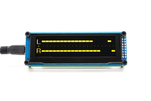 Image 5 - LINK1 OLED Music Audio Spectrum Indicator Amplifier Speed Adjustable AGC Mode 15 Level