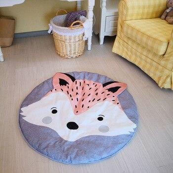 Animal Mats Baby Play Mat For Children Thick Pad Fox Carpet Newborns Rug Toy Crawling mat Baby Kids Toys Child Crawling Blanket
