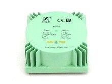 Bingzi transformador de Audio sellado, 50VA (50W), color verde, HIFI, PSU