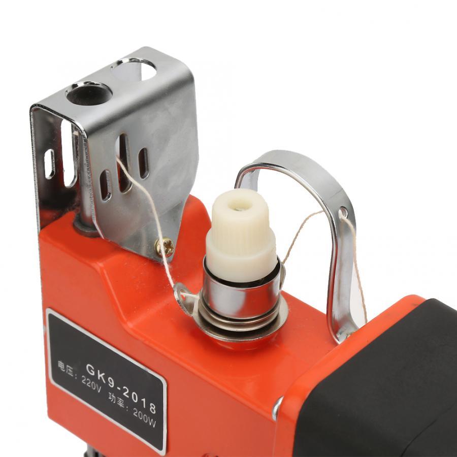 Портативная сумка для электрических запаянных швейных машин Текстиль для дома US Plug 110V - 4