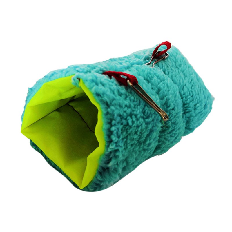 Hamster Tunnel Hammock Swing Hanging Cave Nest Cages Lovely Animal Hedgehog Soft Warm Tunnel Guinea Pig Hamster Bed Netting(China)