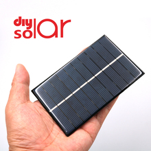 5 V 250mA  1.25W Mini Solar Panel Solar Cells DIY For Light Cell Phone Toys Chargers Portable Drop Shipping DIY Led Lamp